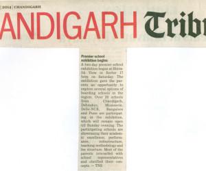 Chandigarh Tribune 19th Jan 2014